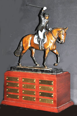 Jonathan Wentz Memorial Trophy for the USPEA