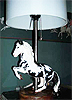 Levade Horse Custom Lamp