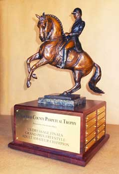 US Dressage Finals Trophy